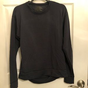 Under Armor soft fleece lined top size M fitted